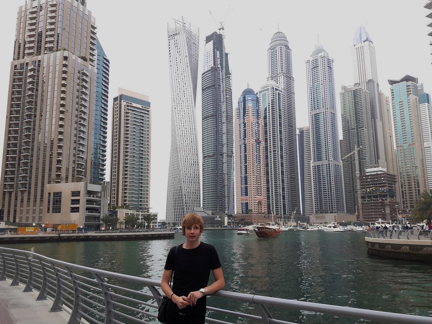 Saša Milivojev - Dubai Marina, United Arab Emirates